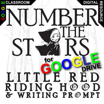 NUMBER THE STARS Little Red Riding Hood (Created for Digital)