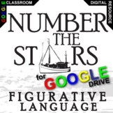 NUMBER THE STARS Figurative Language Analyzer (27 quotes) (Created for Digital)