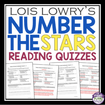 NUMBER THE STARS QUIZZES
