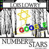 NUMBER THE STARS Unit Plan Novel Study - Literature Guide (Created for Digital)