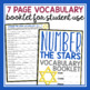 NUMBER THE STARS VOCABULARY