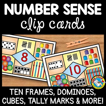 NUMBER SENSE MATH CENTER ACTIVITIES (KINDERGARTEN COUNTING AND CARDINALITY)
