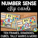 NUMBER SENSE MATH CENTER ACTIVITIES (KINDERGARTEN COUNTING