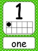 NUMBER WALL CARDS 1-20/COLORFUL DOTS