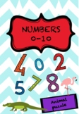 NÚMEROS / NUMBERS 0-10 - ANIMAL PUZZLE