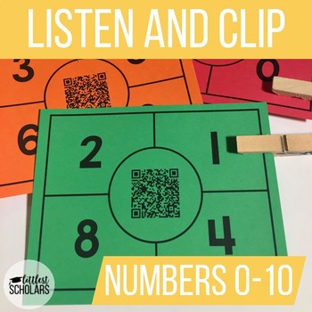 NUMBERS 0-10 [Listen and Clip]
