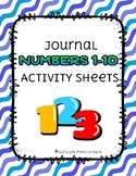 NUMBERS 1-10 INTERACTIVE WORKSHEETS