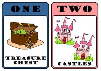 NUMBERS 1-20 Pirates and Princess