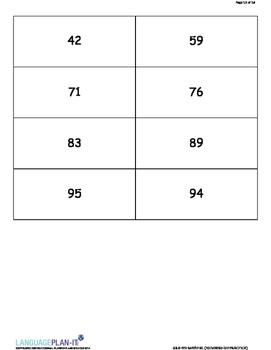 NUMBERS -100 PRACTICE (ARABIC)