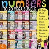 NUMBERS: NUMBER SENSE: NUMBERS 1-20 BUNDLE