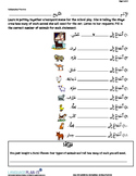 NUMBERS -30 PRACTICE (ARABIC-HINDI)
