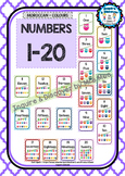 Back To School NUMBER CHART 1-20 - Owls - Classroom Decor - Moroccan