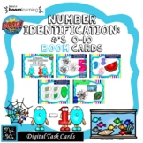 NUMBERS IDENTIFY/RECOGNIZE: BOOM CARDS-- TASK CARDS/DISTAN