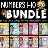 NUMBERS: NUMBER SENSE: NUMBERS 1 TO 10 BUNDLE