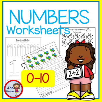 Writing Numbers 0-10 Practice
