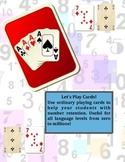 NUMBERS REVIEW: LET'S PLAY CARDS !