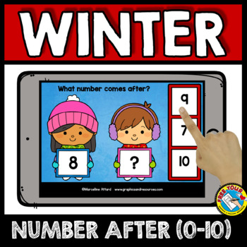 NUMBERS TO 10 BOOM CARDS BUNDLES (WINTER ACTIVITY PRESCHOOL FEBRUARY MATH)