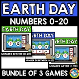 NUMBERS TO 20 BOOM CARDS BUNDLES (EARTH DAY ACTIVITY KINDE