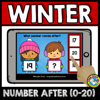 NUMBERS TO 20 BOOM CARDS BUNDLES (WINTER ACTIVITY KINDERGARTEN DECEMBER MATH)