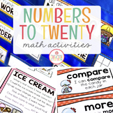 NUMBER SENSE TO TWENTY: MATH ACTIVITIES FOR PRESCHOOL, PREK AND KINDERGARTEN