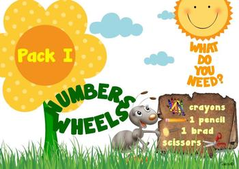 NUMBERS and COLORS WHEELS
