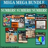 NUMBERS mega mega BUNDLE