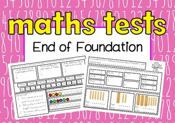 NUMERACY ASSESSMENTS End of Foundation (Progression Point F)