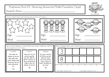 NUMERACY ASSESSMENTS Mid Foundation (Progression Point 0.5)