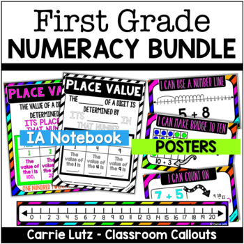 NUMERACY BUNDLE - Journal Pages and Math Strategy Posters