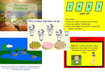NUMERACY NUMBER CALCULATION PROBLEM SOLVING INVESTIGATION