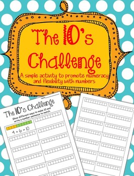 NUMERACY: The 10's Challenge