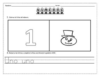 NUMERO 1 -10 NAVIDAD