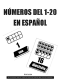 DISNEY MICKEY MOUSE NÚMEROS DEL 1-20  EN ESPAÑOL