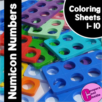 NUMICON COLORING SHEETS