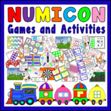 NUMICON GAMES ACTIVITIES- NUMBERS TEACHING RESOURCES EYFS