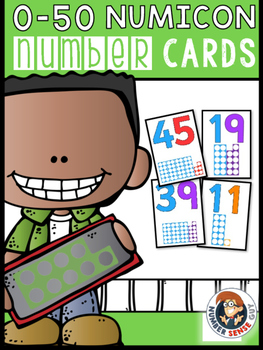 NUMICON NUMBER CARDS (0-50)