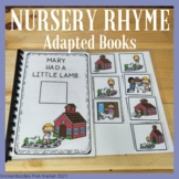 NURSERY RHYME ADAPTED BOOKS