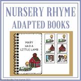 NURSERY RHYME ADAPTED BOOKS