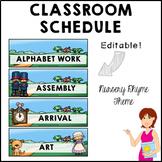 NURSERY RHYMES Classroom Decor Class Schedule