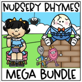 Nursery Rhymes Bundle with Foldable Booklets, Posters and No Prep Printables!