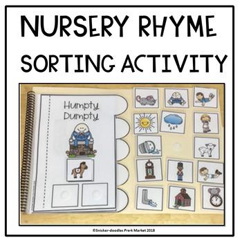 SORTING: NURSERY RHYMES