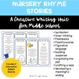 NURSERY RHYME STORIES - End-of-Year Creative Writing Unit