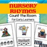 NURSERY RHYMES Count the Room for Preschool and Pre-K