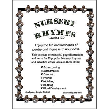 NURSERY RHYMES Gr. K-2