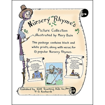 NURSERY RHYMES (PICTURES & VERSES) Gr. K-4