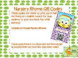 NURSERY RHYMES QR Codes