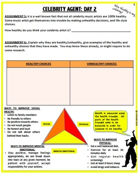 NUTRITION AND EXERCISE; Health Project