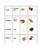 NUTRITITION WORD TILE MATCH GAME