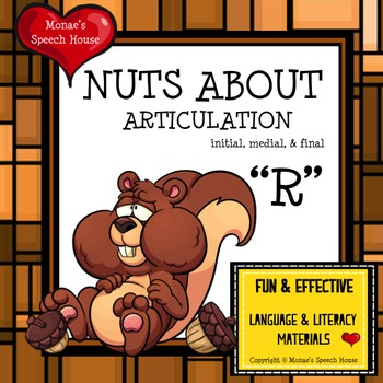 NUTS SQUIRREL Speech Therapy