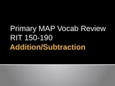 NWEA Math Addition/Subtraction DesCartes Vocabulary Primar